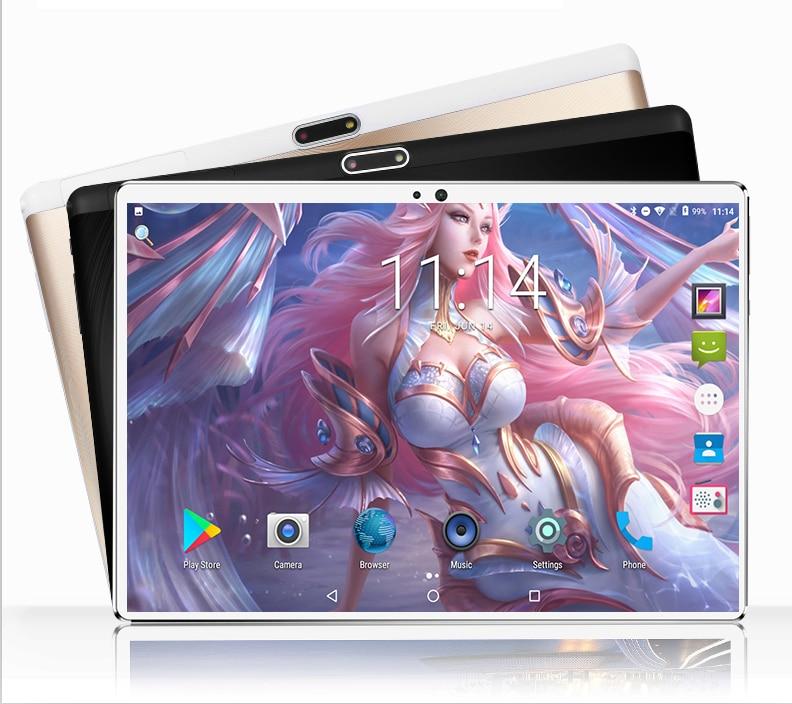 Tableta 4G LTE 2020 con Android 9,0, pantalla táctil de 10,1 pulgadas, Octa Core, Ram de 6GB ROM, 128GB, cámara de 5MP, Wifi, tableta PC de 10 pulgadas