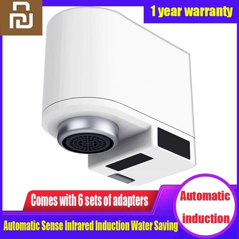 Youpin Zj automatyczne urządzenie do oszczędzania wody inteligentna na podczerwień indukcyjna kuchnia bateria do łazienki czujnik umywalka do łazienki kran