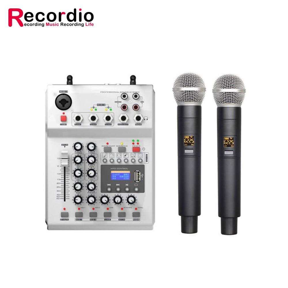 GAX-350 مصنع الجملة 10 قنوات المهنية الرقمية الصوت والفيديو خلاط