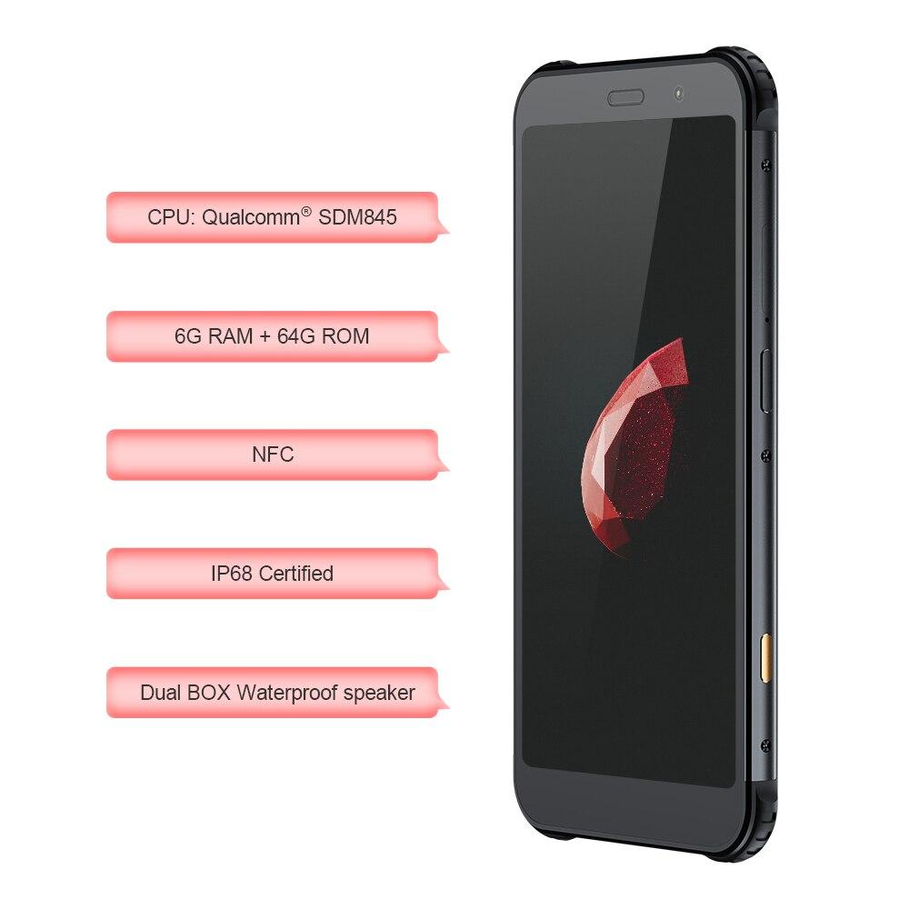 Фото2 - Смартфон AGM X3 JBL кобрендинговый, 5,99 дюйма, 6 + 64 ГБ, NFC, 4100 мАч, IP68, Android 8.1, быстрая зарядка