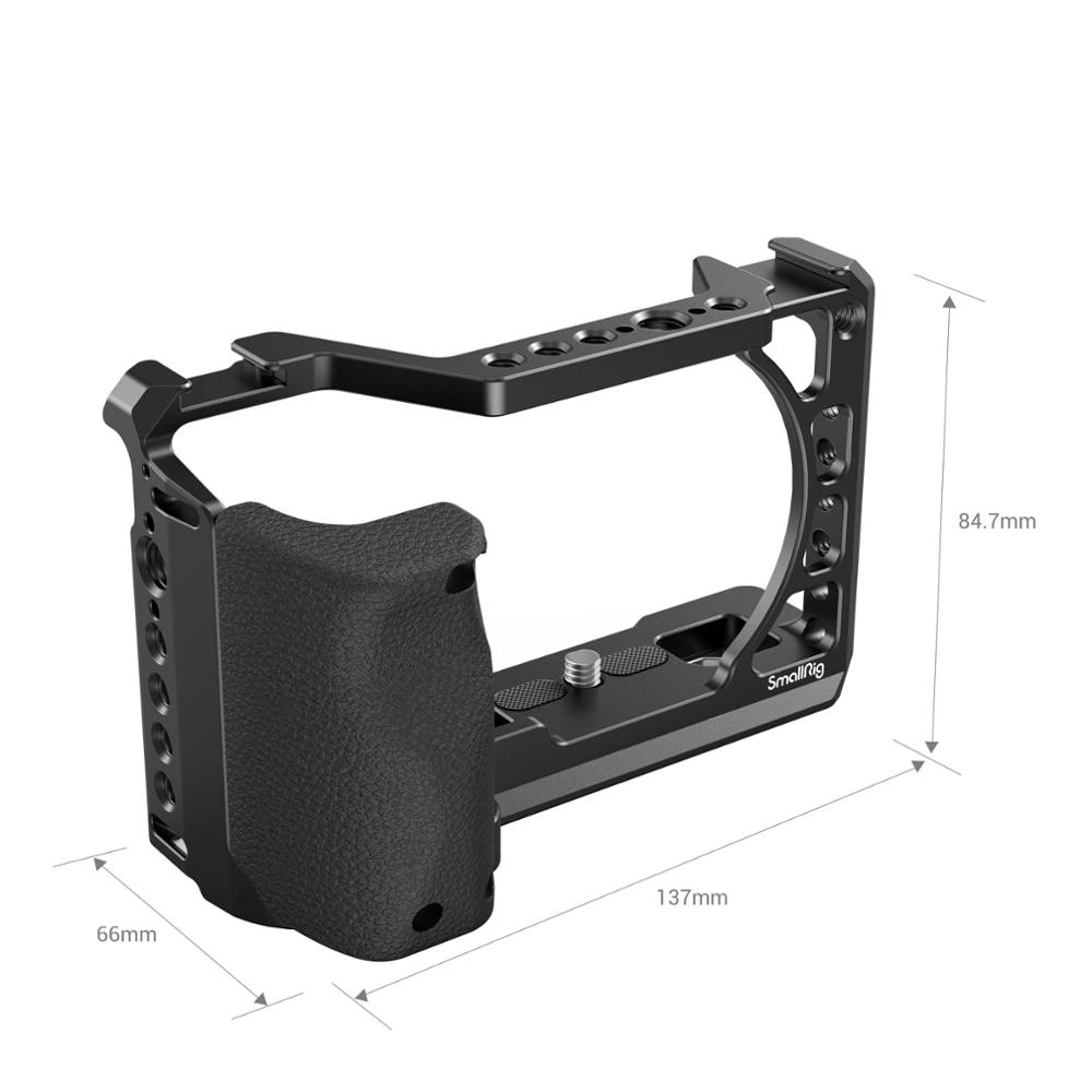 SmallRig Camera Cage with Silicone Handle for Sony A6100/A6400 Camera 3164 enlarge