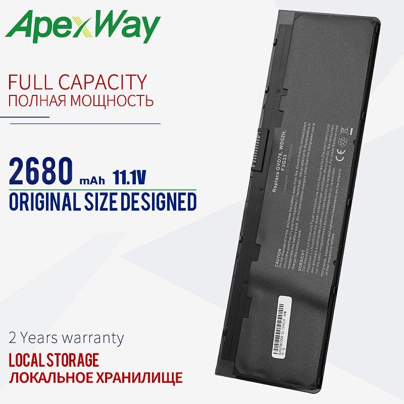 ApexWay 11.1V بطارية لديل 0KWFFN KWFFN VFV59 0VFV59 J31N7 PT1 X01 W57CV 0J31N7 451-BBFX 451-BBFW GVD76 HJ8KP NCVF0