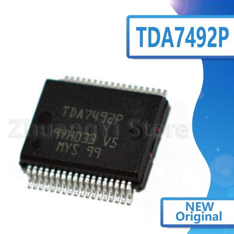 5 uds., TDA7492P TDA7492, chip de controlador de audio para TV LCD, nuevo, calidad original, superbuenos