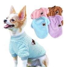 Polaire douce vêtements pour animaux de compagnie chien veste petit chien Chihuahua vêtements hiver chien manteau vêtements pour petits chiens moyens carlin Ropa Perro