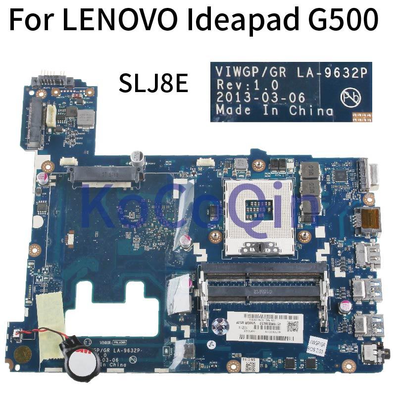 VIWGP/GR LA-9632P материнская плата для ноутбука LENOVO Ideapad G500 HM76 90002834 PGA989 I3 I5 I7 поддержка материнской платы DDR3 SLJ8E