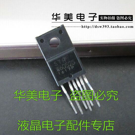 Entrega gratuita. strw6052s STR-W6052 genuíno módulo de gerenciamento de energia lcd