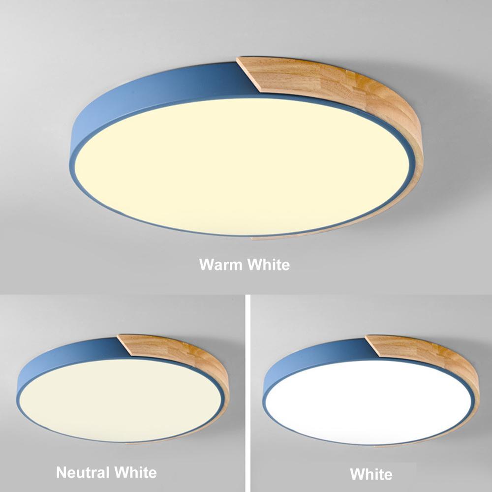 مصباح سقف Led دائري من السبائك ، مصباح متعدد الألوان ، مصباح سقف ، مثالي لغرفة المعيشة أو غرفة النوم.