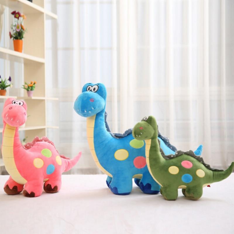 35 см милые новые животные динозавры плюшевые игрушки куклы для живой милой Куклы Дети Малыши игрушки мальчик подарок на день рождения