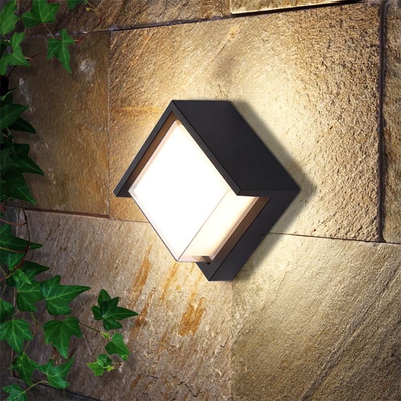 8M Outdoor Wall LampsWaterproof Contemporary Creative Decorative For Patio PorchCourtyard  Corridor  VillaDuplex enlarge