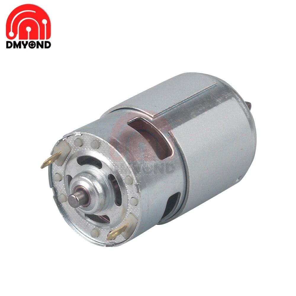 12V 24V 4500Rpm 5500Rpm 12000Rpm 775 Dc Motor Kogellager Grote Koppel High Power Lage noise Hot Koop Elektronische Component Motor