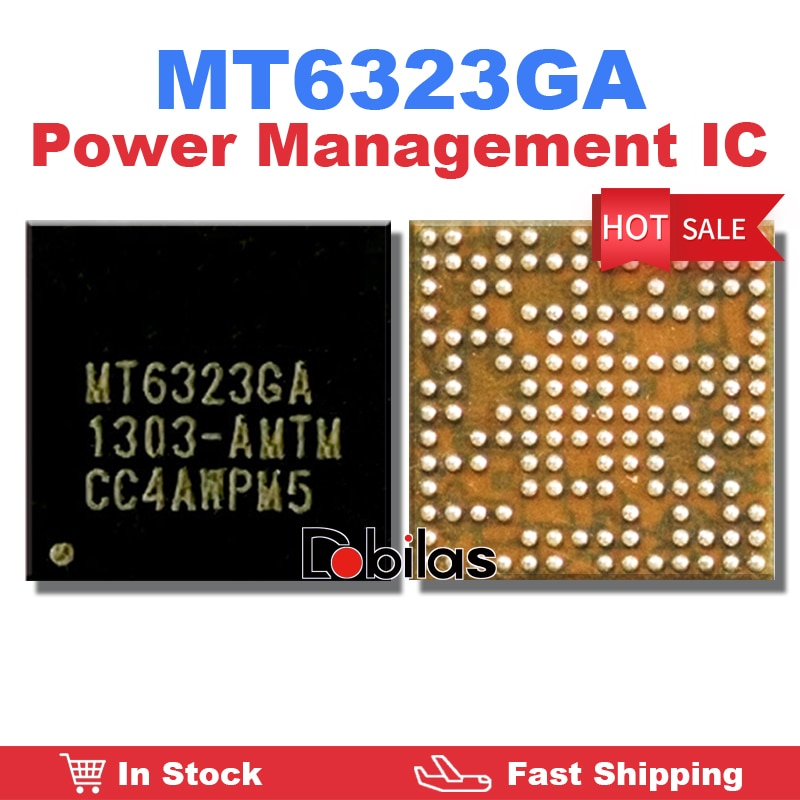 5Pcs/Lot MT6323GA Power IC Power Management Supply Chip BGA Mobile Phone Integrated Circuits Replace