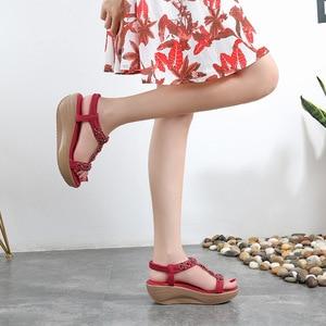 2021 Women Sandals Casual Wedges Platform Ladies Summer Sweet Shoes Woman Casual Women's Female Shoes