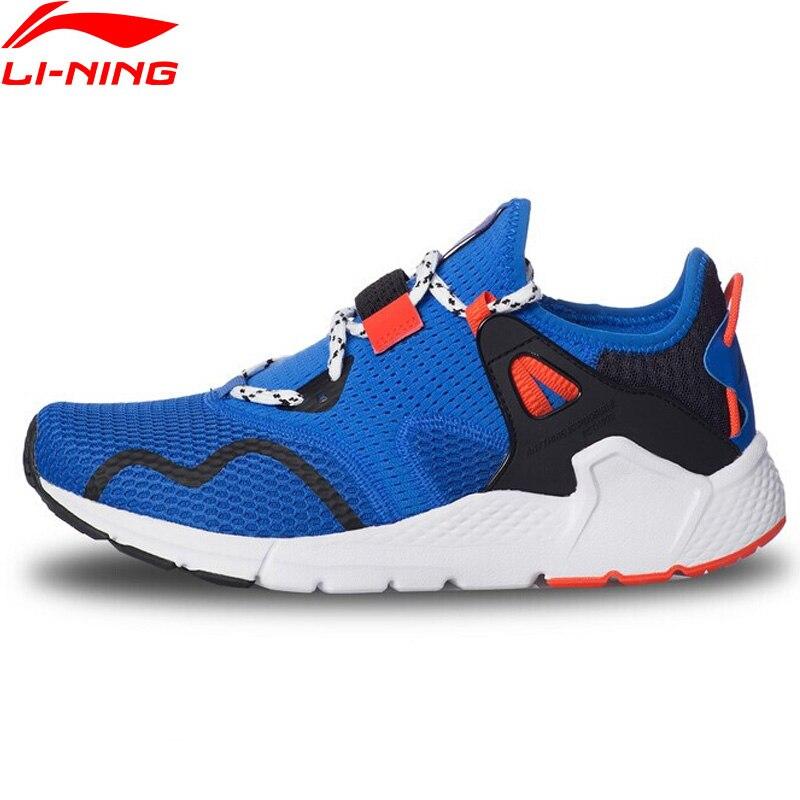 Li-Ning Men MAFIA Stylish Lifestyle Shoes Retro Breathable Support Slip-ons LiNing Sport Shoes li ning Sneakers AGLQ025