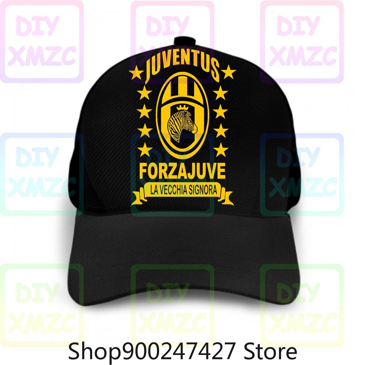 Jersey Italia gorra de béisbol fútbol T sombreros Serie A Juve nuevo 1