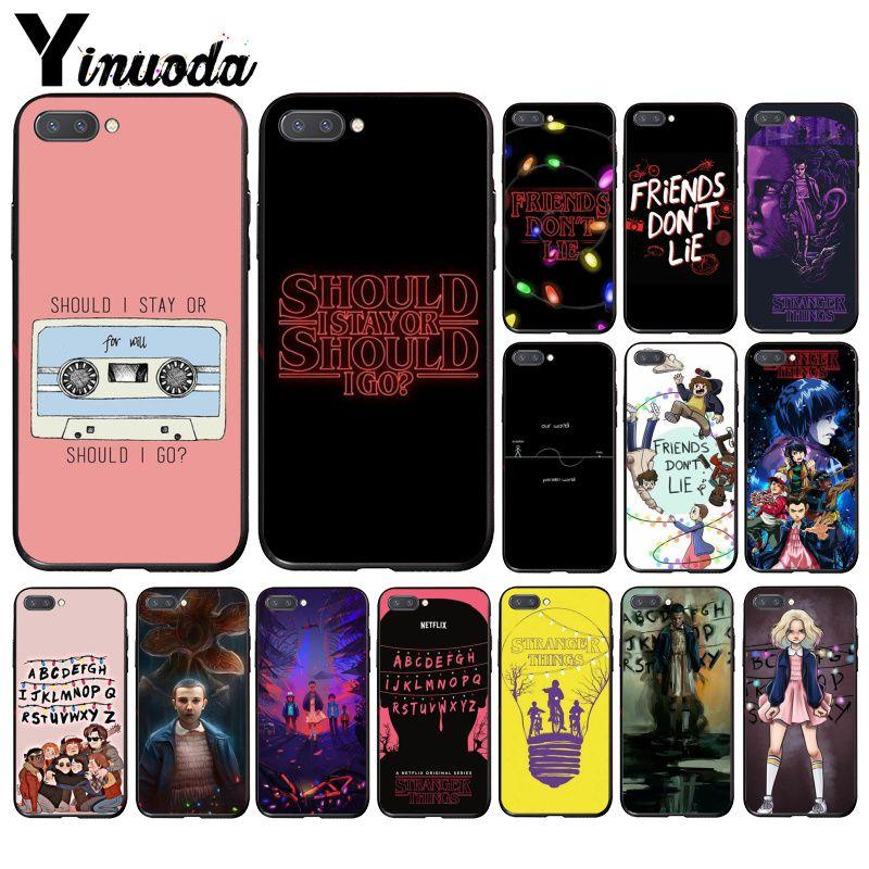 Yinuoda should stay should Stranger Things  Phone Case for Huawei Honor 8A 8X 9 10 20 Lite 7A 5A 7C 10i 9X pro Play 8C