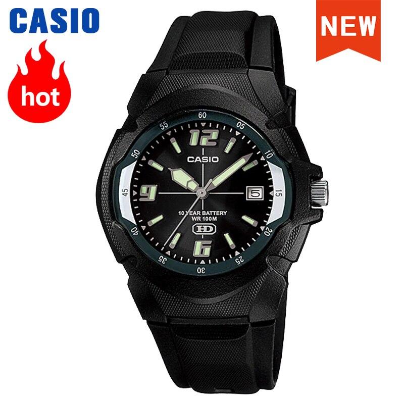ساعة كاسيو للرجال عشر سنوات من الكهرباء ساعة رجالية علوي رياضية رقمية مقاوم للماء ساعة كوارتز رجالية relogio masculino HDA-600B-1B
