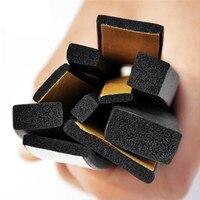 15mm x 5mm adhesive rubber foam sponge cabinet door window seal strip crashproof weatherstrip sound insulation