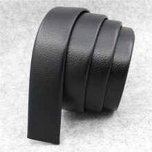 Men's 140cm 130cm 120cm lengthened fatty only automatic buckle belt high-quality high-end Wearable and durable soft waistband