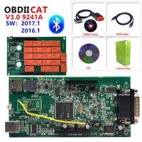 OBDIICAT-TCS 2017,3 новейший + keygen V3.0 NEC Реле Tcs Pro Plus светодиодный 3 в 1 сканер для автомобиля грузовиков OBD2 диагностический инструмент для ремонта