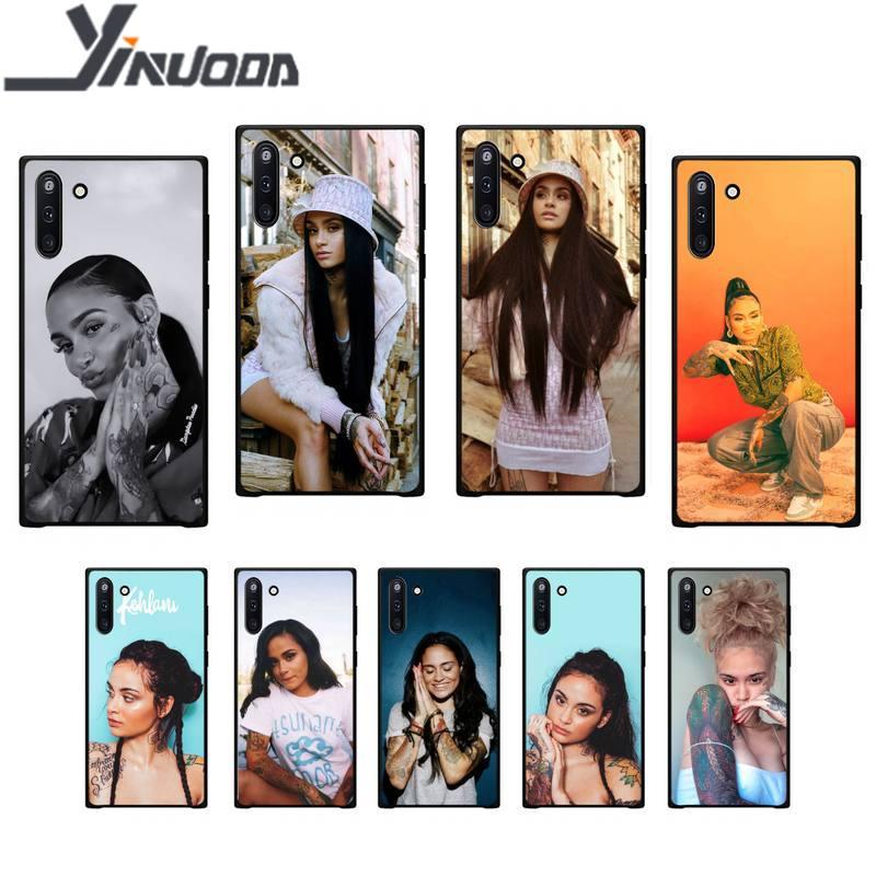 Yinuoda kehlani parrish funda de teléfono negro suave para Samsung galaxy J2 J2 J3 J4 plus J5 prime J7 2016 J6 note 5 8 9 10 fundas