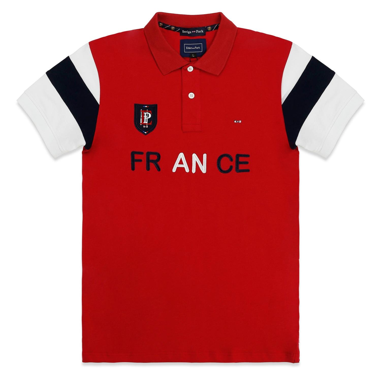 2020 Francia Eden Park ropa antiadherente con material de alta calidad y patrón especial nueva colección de camisa polo de verano para hombres
