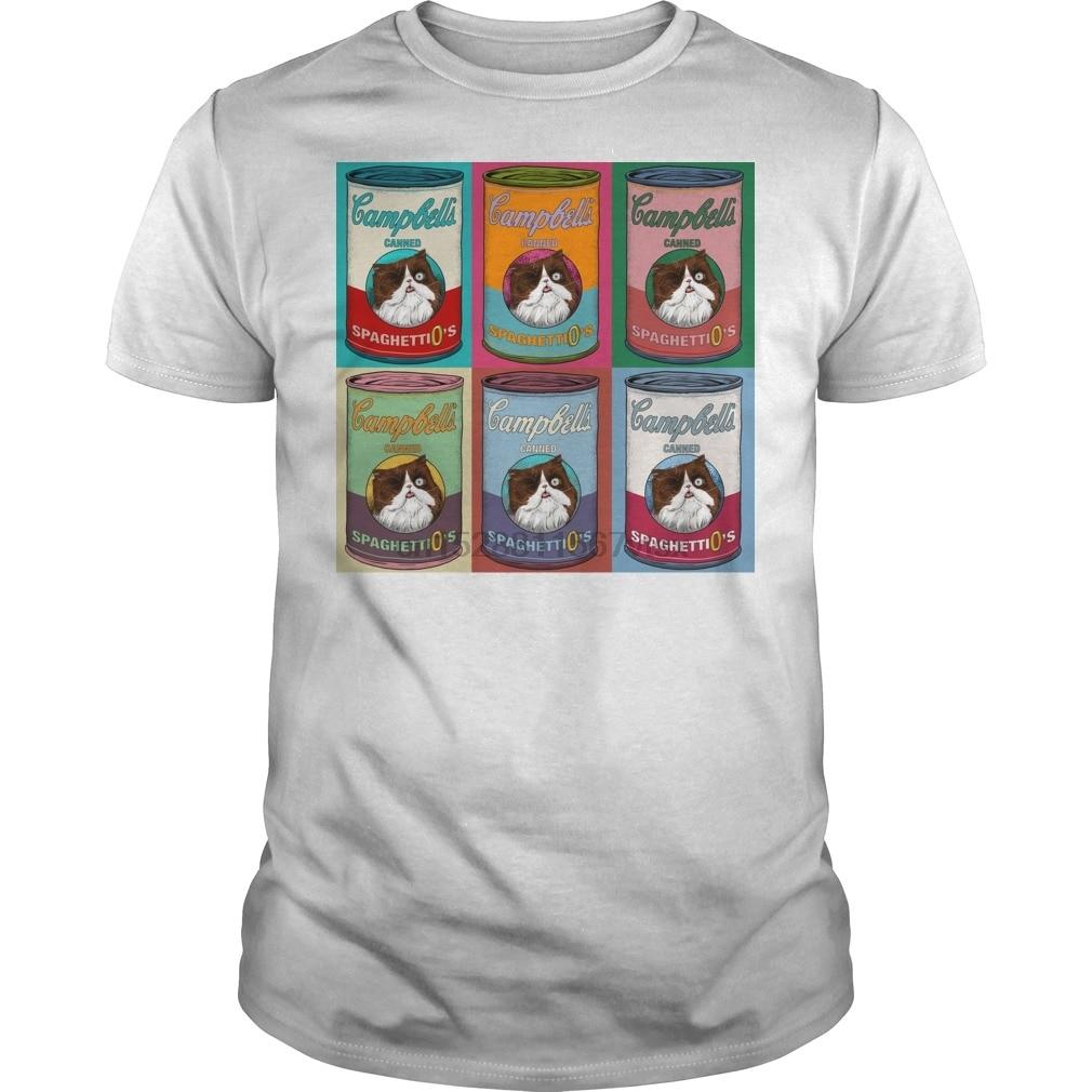 Camiseta para hombre estilo Spaghettio Warhol Mk2_555870_1_black shirts cool Printed camiseta camisetas