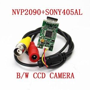 NVP2090+405AL B/W CCD camera BNC connector   Home security camera module  Low light camera movement   Medical camera i