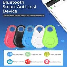 Draadloze Bluetooth Tracker Anti-verloren Alarm Smart Tag Kind Tas Portemonnee Key Finder GPS Locator met Gratis Mobiele APP monitoring