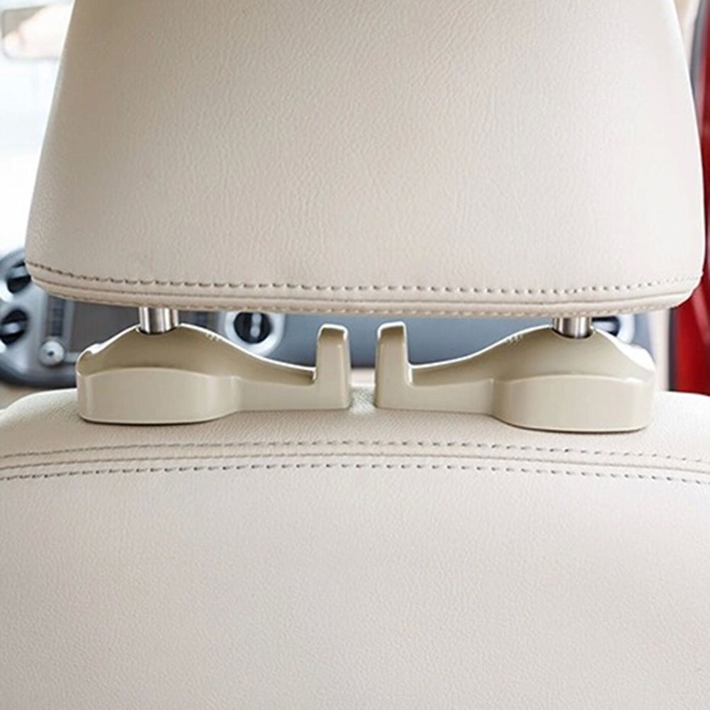 2PCS/bag Auto Portable Seat hook Hanger Purse Bag Holder Organizer Holder Car Fastener&Clip Interior Accessories Bags