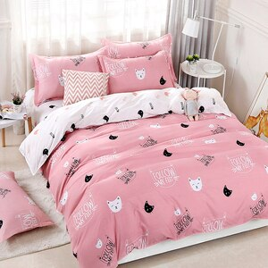 Cats Printing Bedding Set 2pcs/3pcs Duvet Cover Set 1 Quilt Cover+1/2 Pillowcases(no Blanket or Sheet)twin Full Queen King