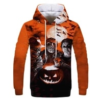 2021 spring and autumn new mens sweater hoodie funny printed sweater hoodie