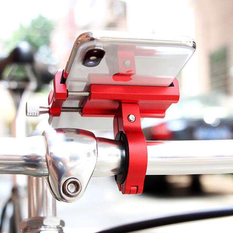 Adjustable Mobile Phone Holder Handlebar Clip Stand GPS Mount Bracket Rack for Xiaomi M365 M365 Pro
