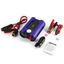 Convertisseur de puissance 500W Peak 1000W 12V cc   Bleu, onde sinusoïdale Pure, convertisseur de puissance de voiture avec 2 ports USB, pour appareil électroménager