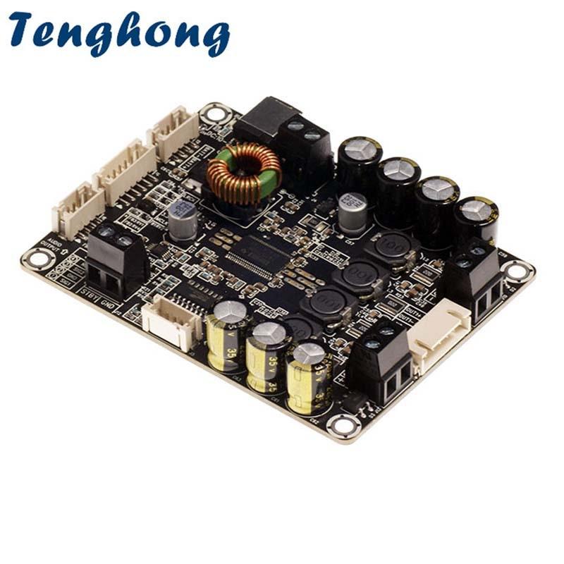Tenghong-لوحات مضخم الطاقة TAS5754 ، 30W * 2 HIFI ، إدخال رقمي من الفئة D ، مضخم صوت DAC ، دعم I2S Raspberry Pie