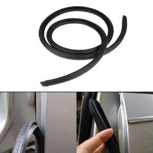 Image 2 - Звукоизоляционная резиновая уплотнительная полоса для автомобиля, 2x80 см, Накладка для B столба, шумоизоляция, ветрозащитная кромка двери, резиновые уплотнительные полосы, Стайлинг автомобиля