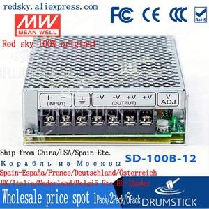 Meanwell SD-100B-12 12 В 8.5A meanwell SD-100 12 в 102 Вт один выход Converter конвертер