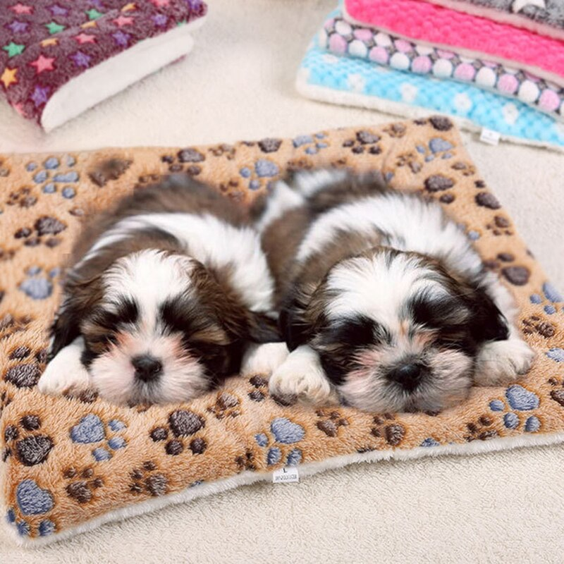 Manta suave y cómoda para mascotas, estera cálida para perros, estera de...