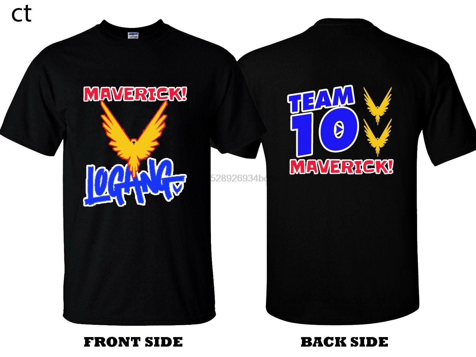 2017 Maverick Bird Color Merch Logan Paul  T-Shirt Tees Clothing