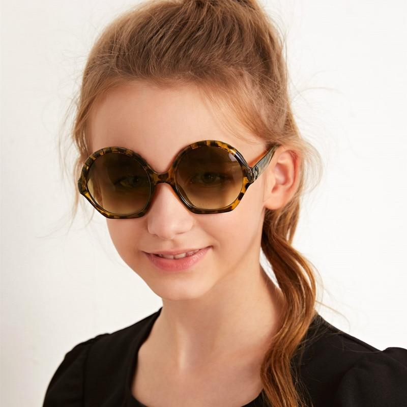 ¡Moda 2020! Bonitas gafas de sol para niños, bonitas gafas de sol Punk redondo para niños, gafas de sol para niñas de estilo veraniego UV400 para fiestas infantiles