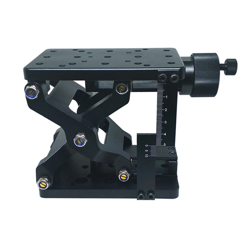 PT-SD408/408S High Precise Manual Lift Z-axis Manual Lab Jack Elevator Optical Sliding Lift lifting platform 60mm Travel