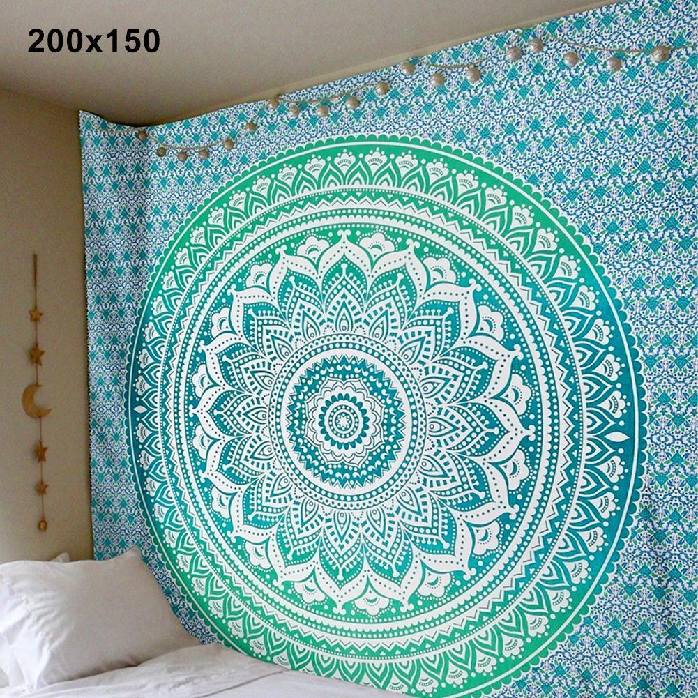 mandala style HOT SALES!!! Mandala Bohemian Yoga Mat Beach Towel Shawl Blanket Indian Wall Hanging Tapestry Bohemian style mandala tapestry