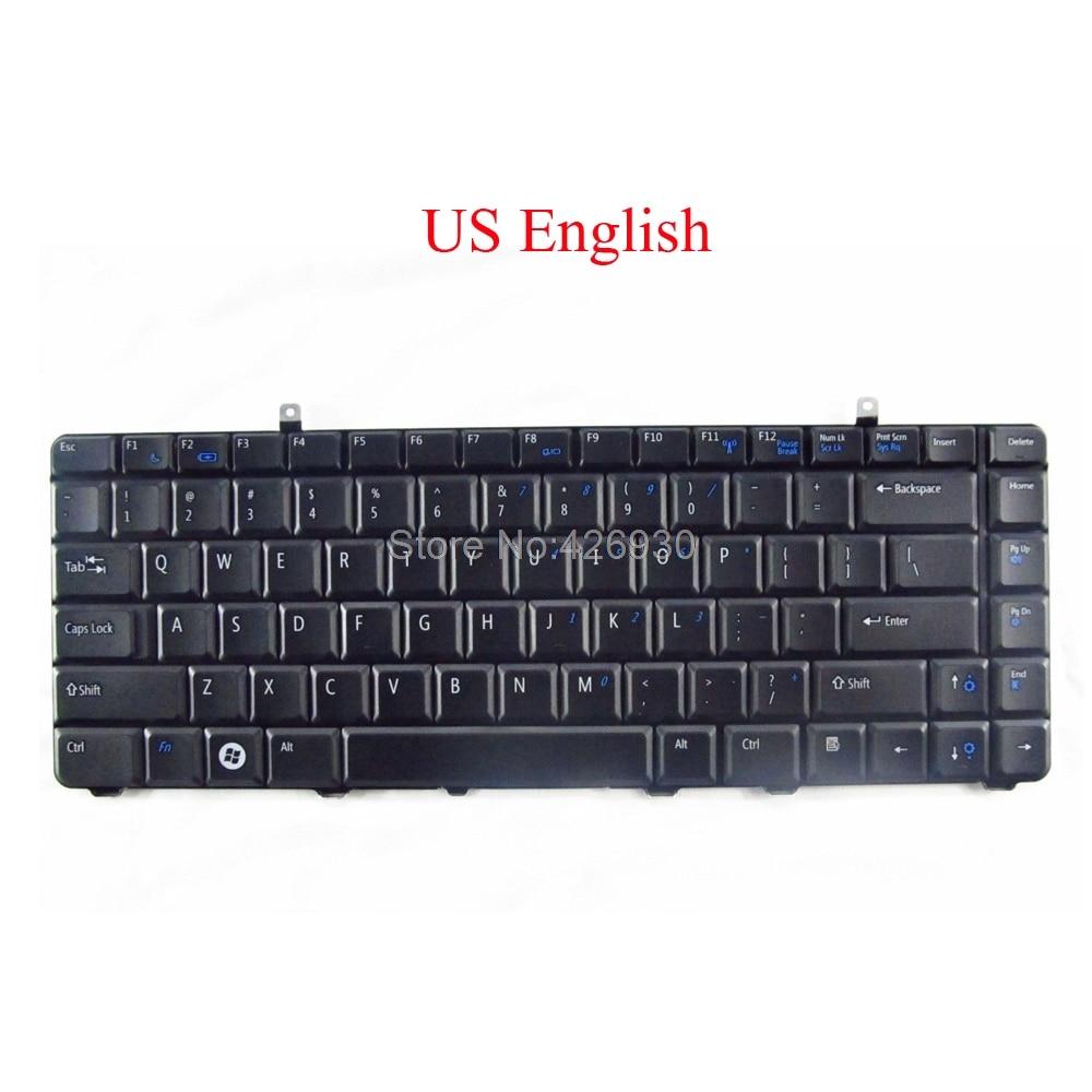 Teclado para ordenador portátil DELL para Vostro 1014 1015 A860 A840 1088 para Inspiron 1410 inglés nuevo