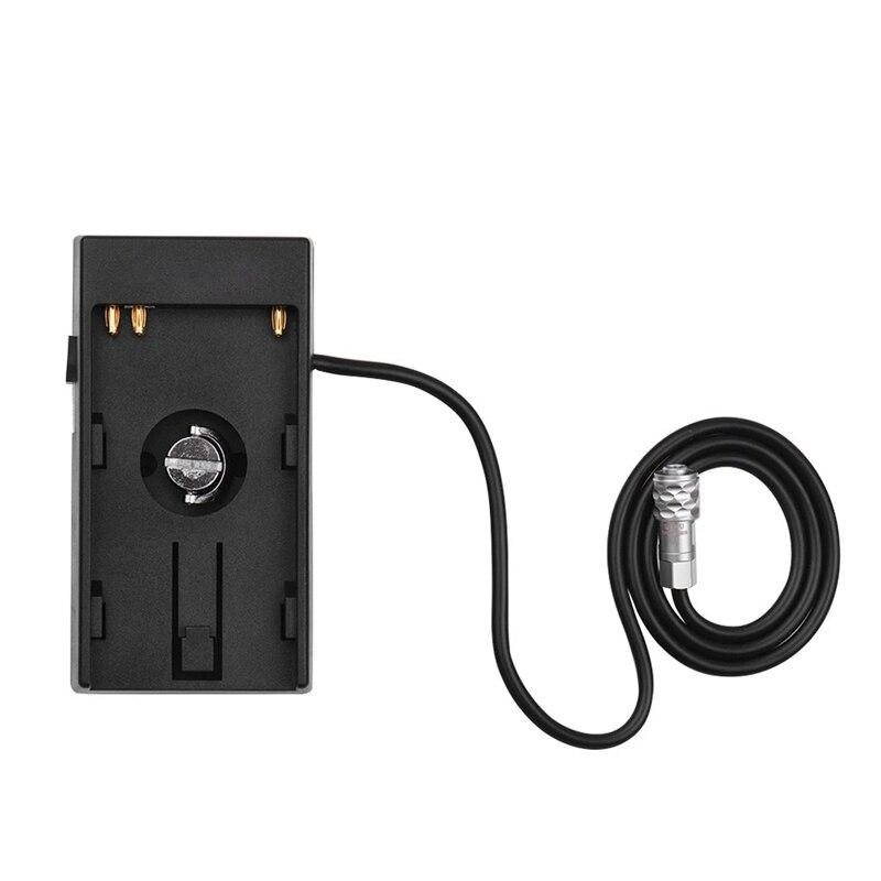 Câmera dv bateria fonte de alimentação montagem placa adaptador com 1/4 Polegada parafuso para sony BP-U30 u60 u90 BP-U bateria