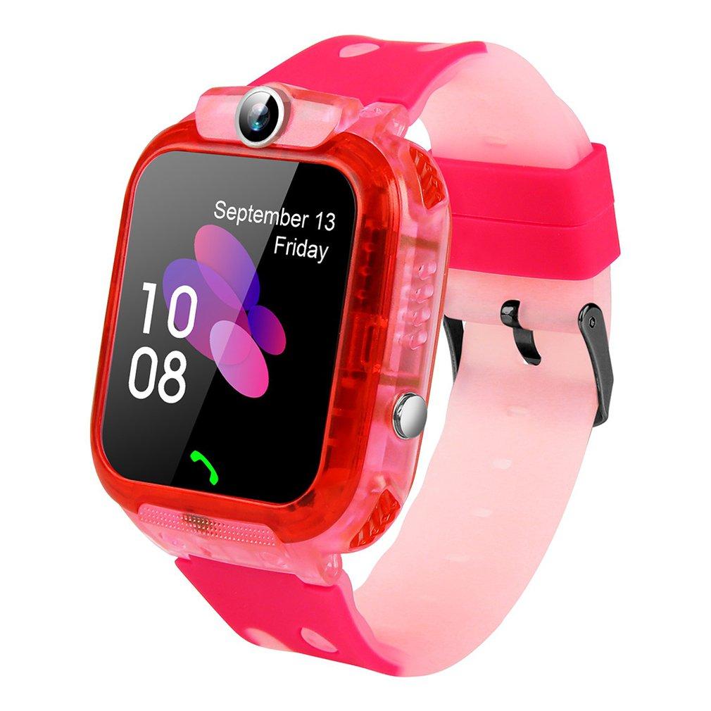 Relógio inteligente q360/ds64 para crianças com câmera gps wifi localização criança smartwatch sos monitor anti-perdido rastreador relógio de pulso do bebê