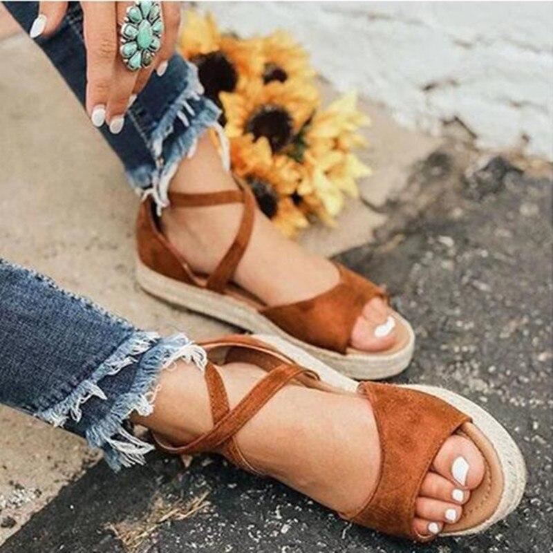 Sandálias femininas direto da fábrica plataforma sandálias para sapatos de verão mulher cunhas saltos sandalias mujer macio botom causal sapatos praia