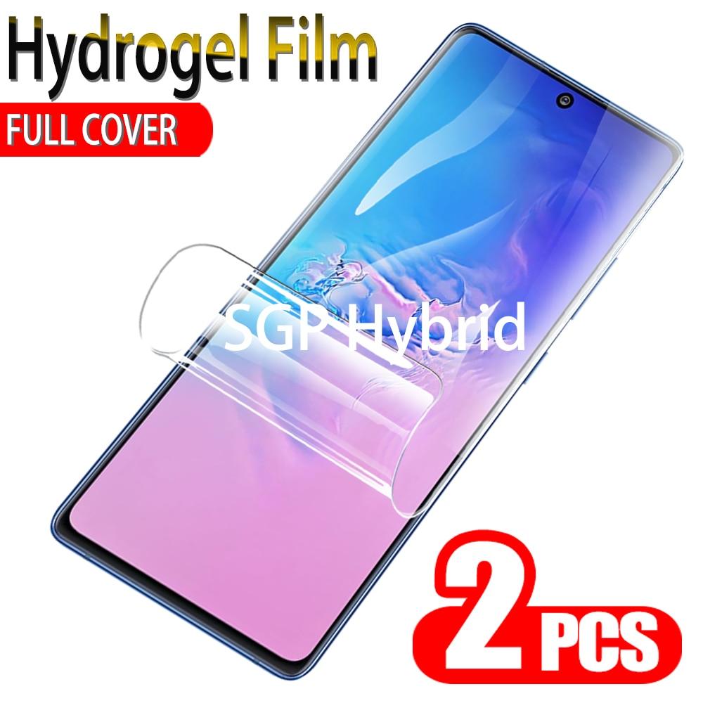 2PCS Hydrogel Film For Samsung Galaxy S10 Plus Lite S10E Screen Protector Display Film For samsung s10 plus lite s10e e sumsang