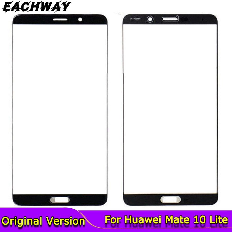for Huawei Mate 10 Lite Touch Screen Front Glass Phone Mate 10 / Pro Touchscreen Panel Front Glass Lens Parts New NO LCD DISPLAY