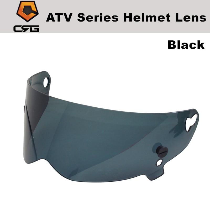 Moto lente para simpson star wars porco capacete lente crg atv série viseira para o stig para crg 1-5 moto rcycle capacete completo de vidro