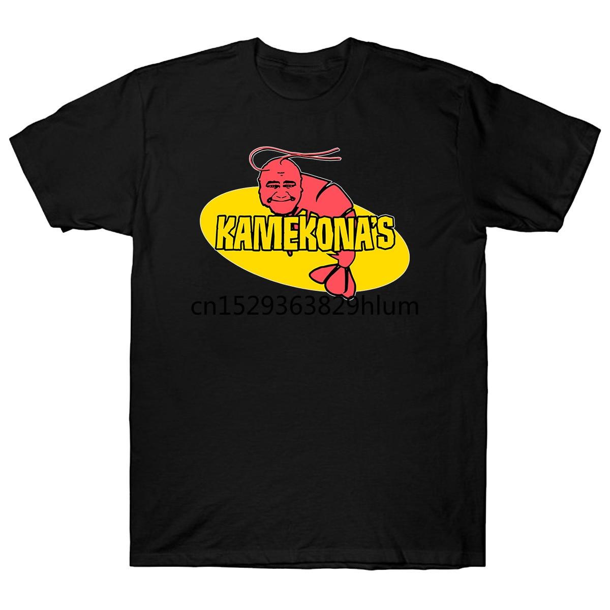 Camiseta de gamba Kamekonas Five 0 Five O Hawaii Five 0 Hawaii Five 0 Hawaii Five O distintivo de policía, libro de playa Em Danno