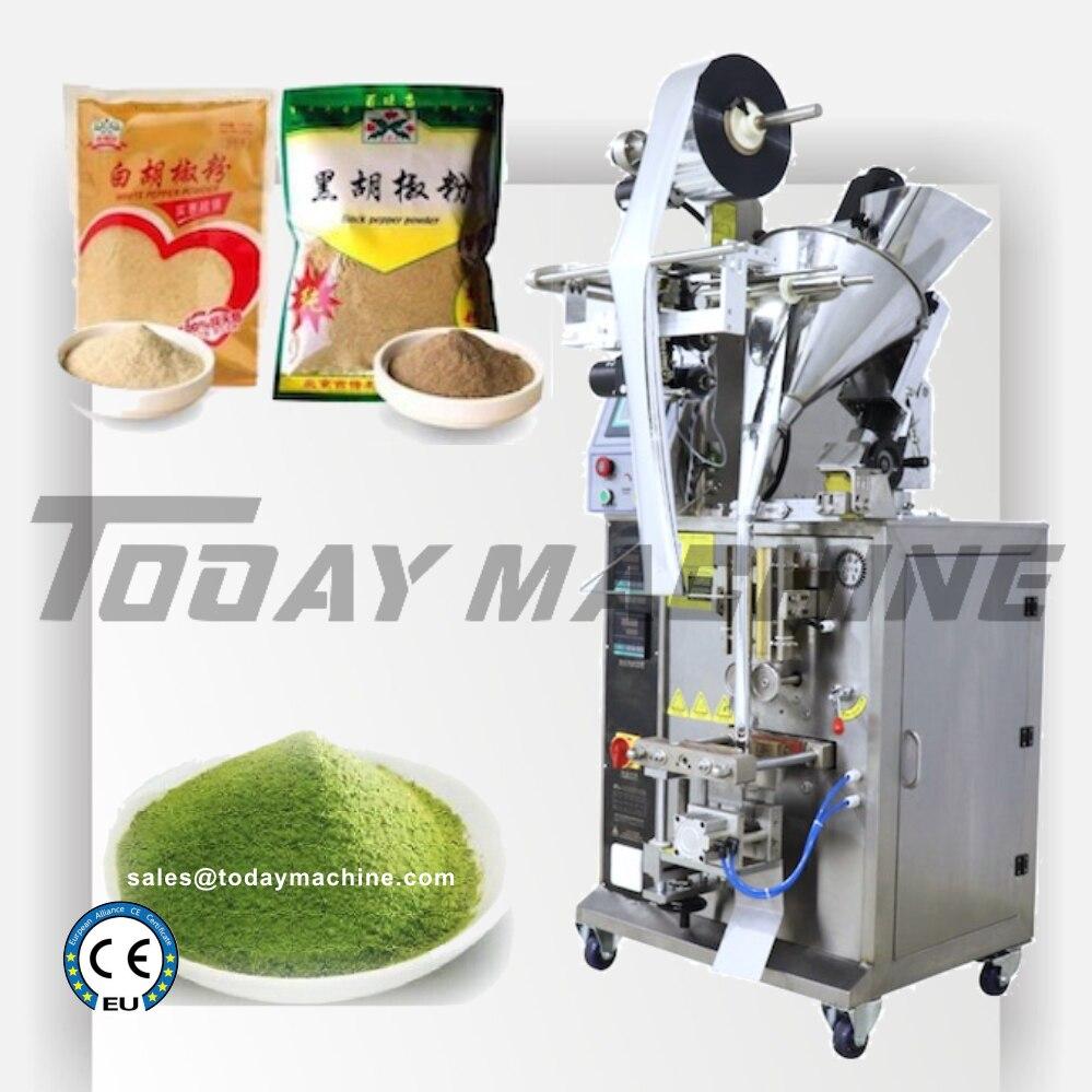 Máquina envasadora de polvo de proteína semiautomática OEM de fabricante de relleno de polvo de China